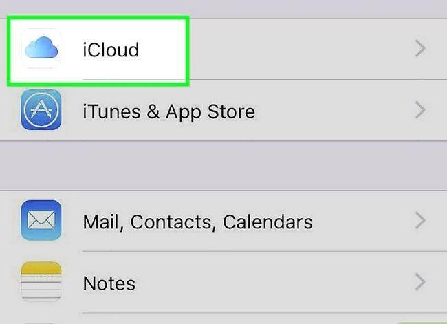Prent getiteld Voeg `n telefoonnommer by jou Apple ID op `n iPhone Stap 2