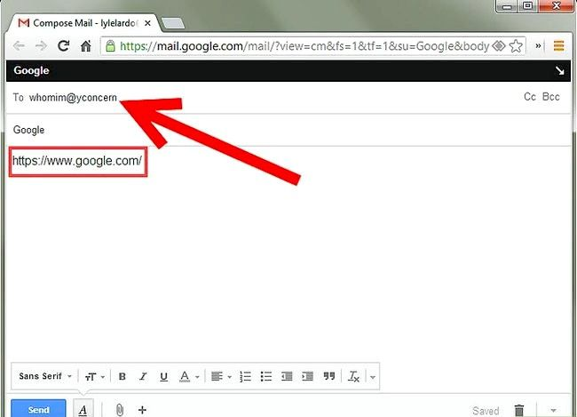 Prent getiteld Voeg `n Gmail-knoppie by Chrome Stap 5