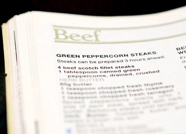 Prent getiteld Doen `n Steak Rub Stap 2