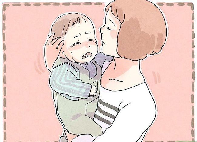 Prent getitel Kalm `n Fussy Baby Stap 9