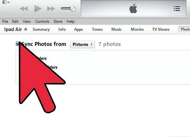 Prent getiteld Winkelfoto`s op iTunes Stap 5