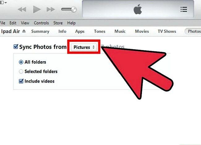 Prent getiteld Winkelfoto`s op iTunes Stap 6