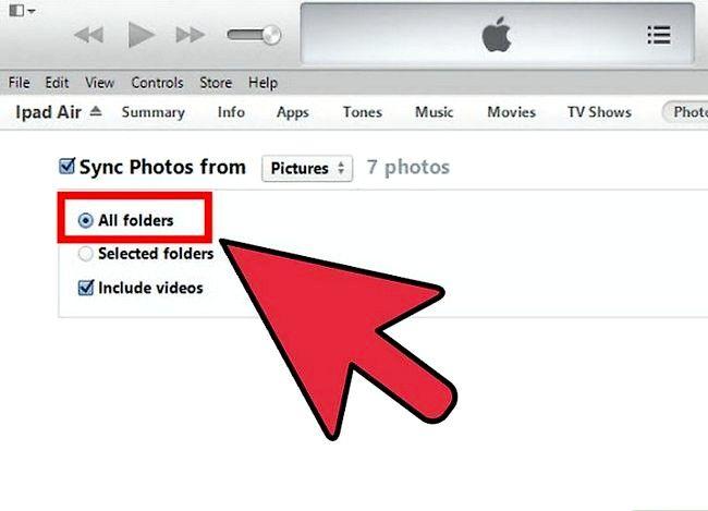 Prent getiteld Winkelfoto`s op iTunes Stap 7