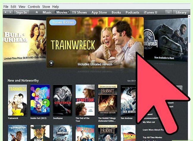 Prent titel Huur films op iTunes Stap 3