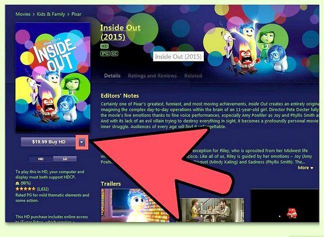 Beeld getiteld Huur Movies op iTunes Stap 4
