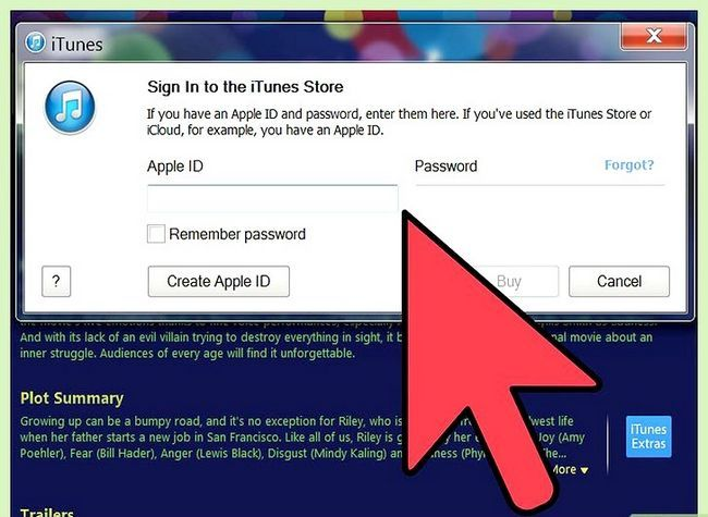 Prent titel Huur films op iTunes Stap 5