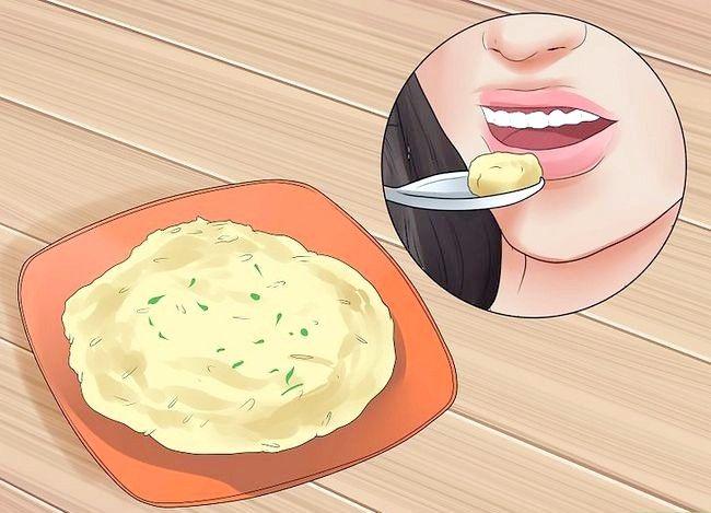 Prent getiteld Borsvoeding op `n Vegan-dieet Stap 8