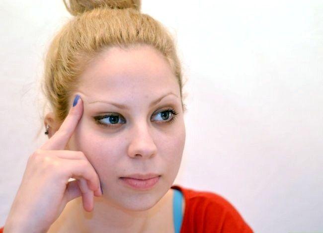 Prent getiteld Doen Ballet Make-up Stap 1