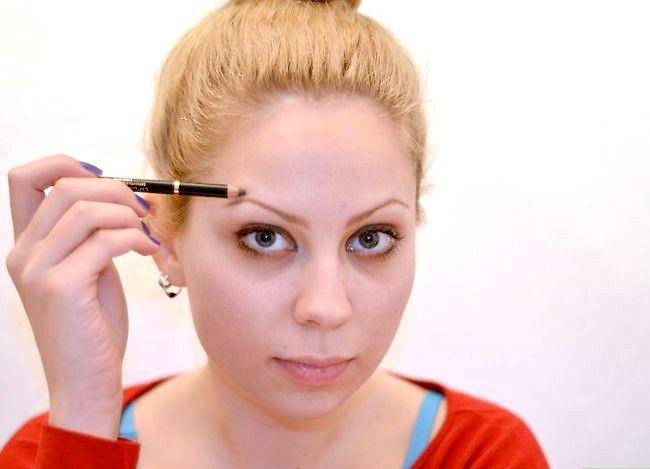 Prent getiteld Doen Ballet Make-up Stap 4