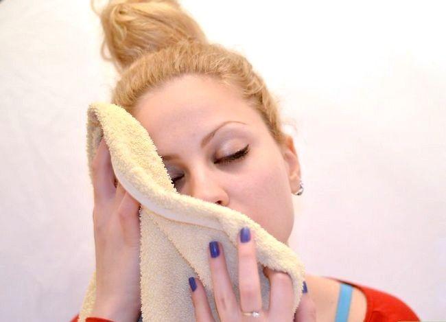 Prent getiteld Doen Ballet Make-up Stap 9
