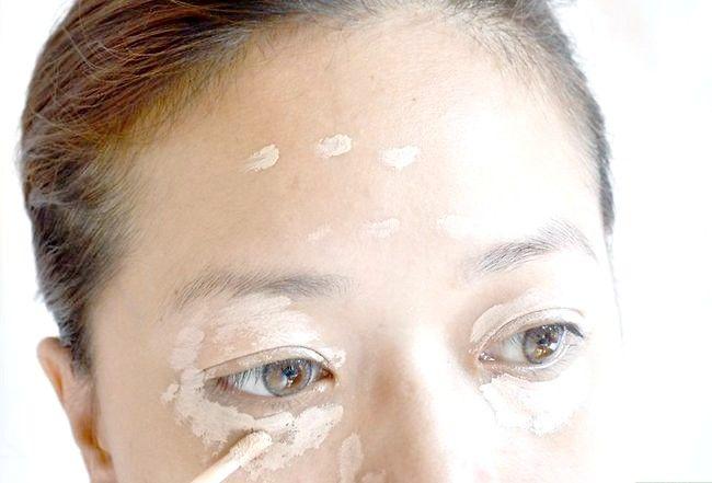 Prent getiteld Doen die perfekte make-up vir regverdige vel Stap 1