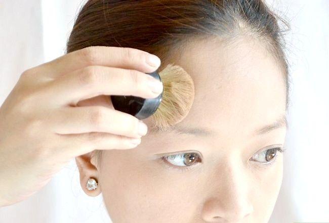 Prent getiteld Doen die perfekte make-up vir regverdige vel Stap 6