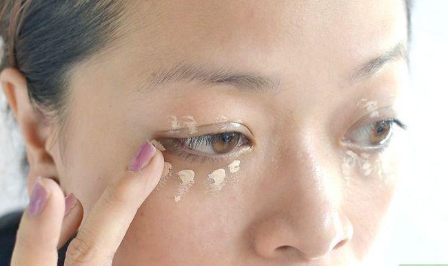 Prent getiteld Doen make-up vir `n nag uit stap 1