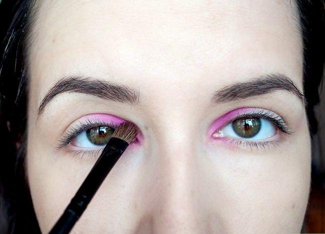 Prent getiteld Dien Rainbow Eye Shadow Stap 2 toe