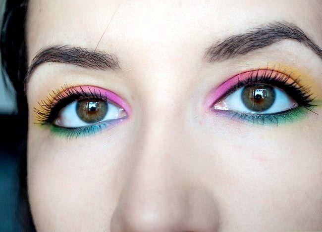 Prent getiteld Pas Rainbow Eyeshadow Intro toe