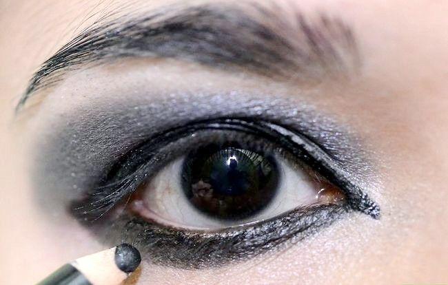 Prent getiteld Doen Makeup Like Lady Gaga Stap 11