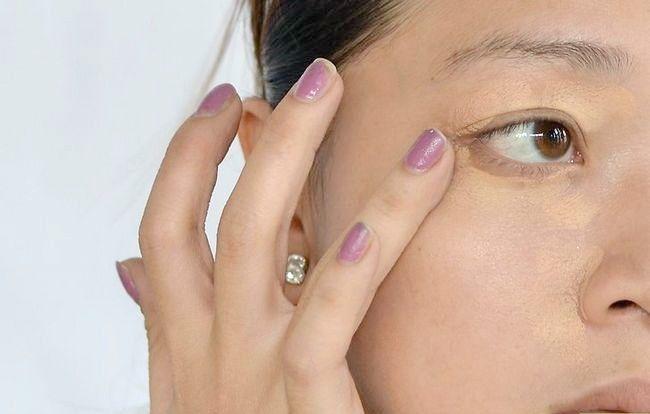 Prent getiteld Doen aand Make-up Stap 1