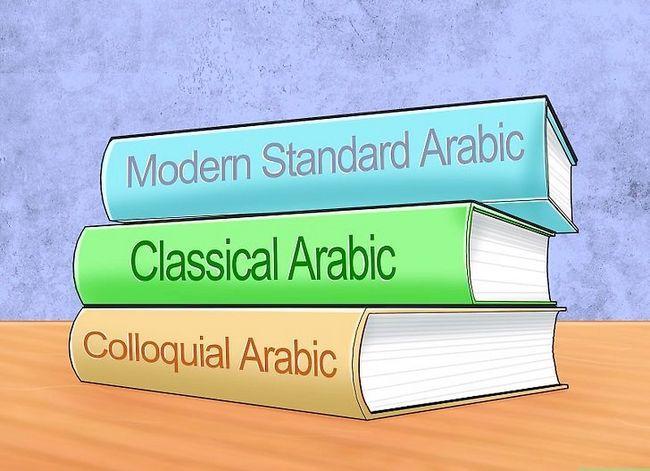 Prent getiteld Learn Arabic Stap 1