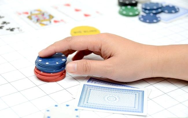 Prent getiteld Learn Poker Percentages Stap 2