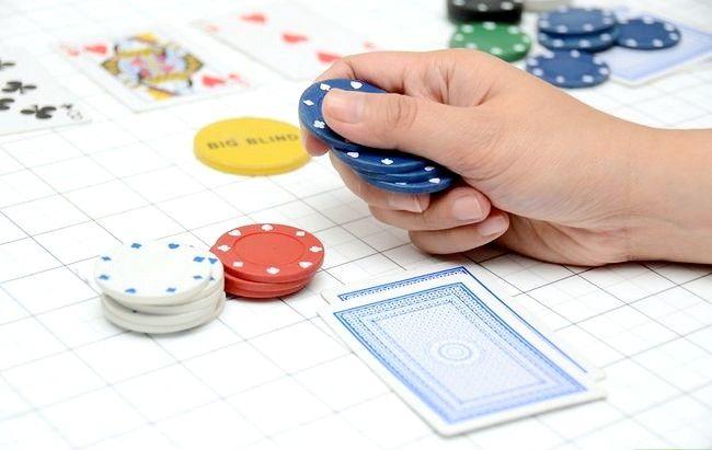 Prent getiteld Learn Poker Percentages Stap 4