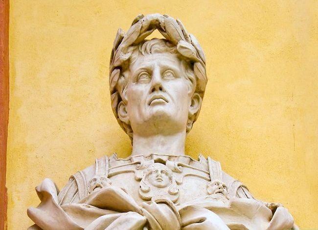 Prent getiteld Leer oor Antieke Rome Stap 3