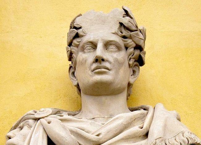 Prent getiteld Leer oor Antieke Rome Stap 5