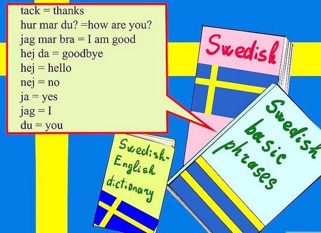 Prent getiteld Learn Swedish from Scratch Step 1