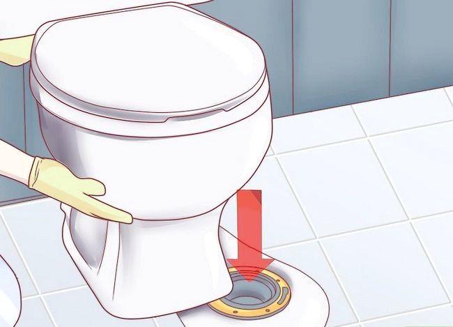 Prent getiteld Fix a Toilet Seal Stap 12