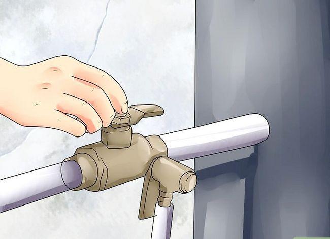 Prent getiteld Probleemoplossing Lae Waterdruk Stap 10