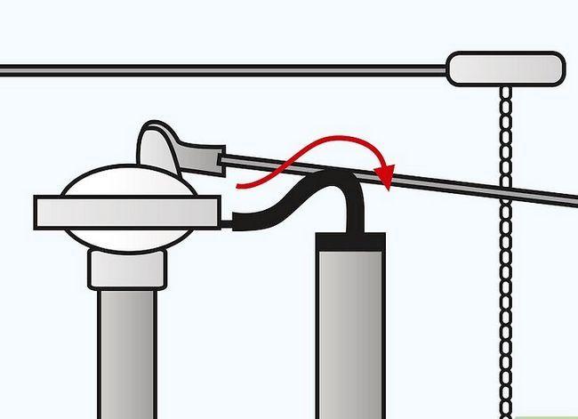 Prent getiteld `n hardloop toilet stap 16