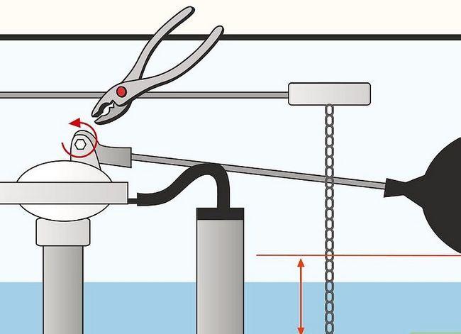 Prent getiteld Fix a running toilet Stap 9