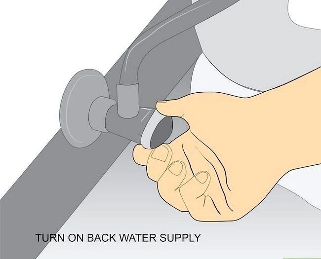 Beeld getiteld Fix a Leaky Toilet Tenk Stap 23