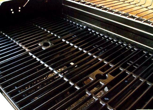 Prent getiteld Rotisserie Grill Stap 1