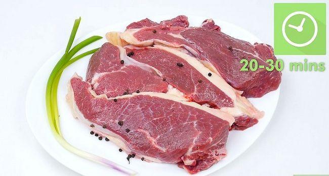 Prent getiteld Broil Steak Stap 2