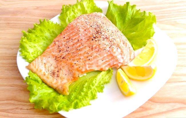 Prent getiteld Broil Salmon Intro