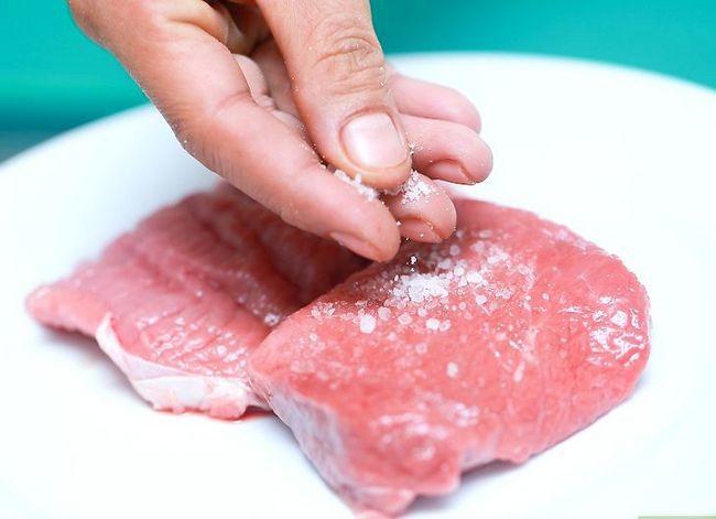 Prent getiteld Grill Sirloin Steak Stap 4