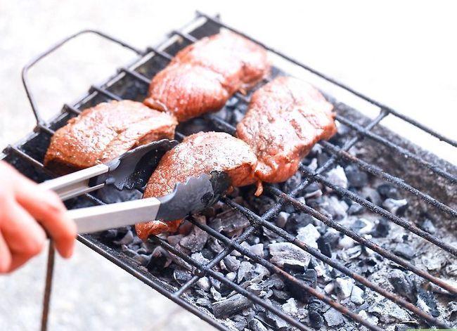 Prent getiteld Grill Sirloin Steak Stap 5