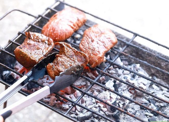 Prent getiteld Grill Sirloin Steak Stap 6