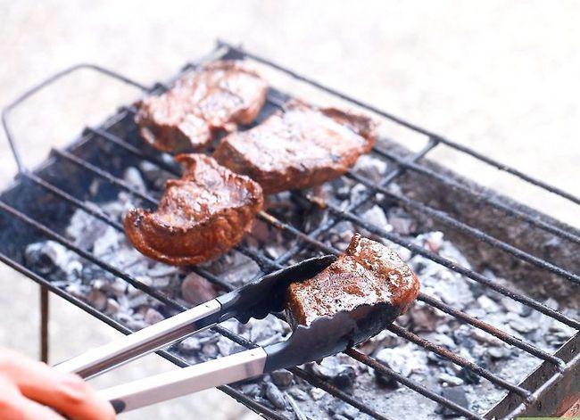 Prent getiteld Grill Sirloin Steak Stap 7