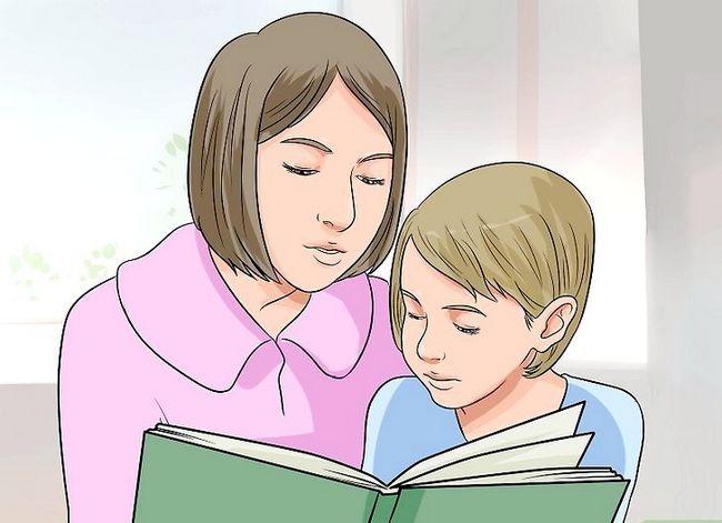 Prent getiteld Leer Kinders (Ouderdom 3 tot 9) Stap 1