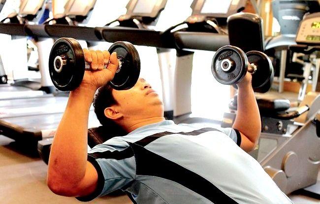 Prent getiteld Warm op vir Weight Lifting Oefeninge Stap 9
