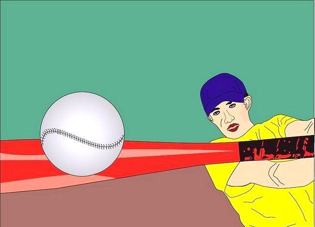 Prent getiteld Hit a Slowpitch Softball Stap 06