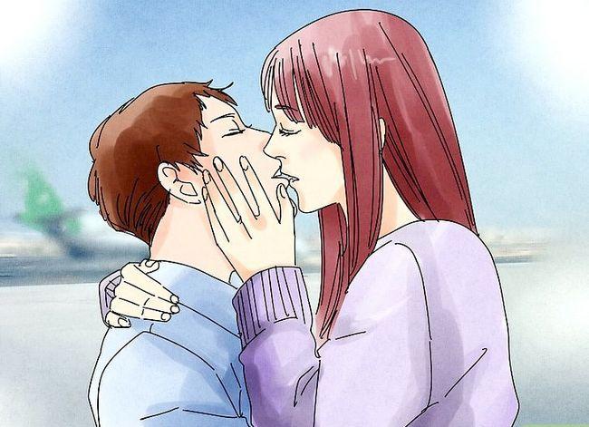 Prent getiteld Kiss Passionately Stap 13
