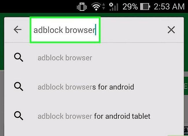 Prent getiteld Kry die Android-blaaier om pop-ups te blokkeer Stap 14