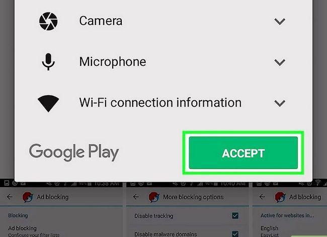 Prent getiteld Kry die Android-blaaier om pop-ups te blokkeer Stap 17