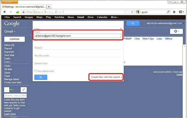 Prent getiteld Blok Senders in Gmail Stap 5