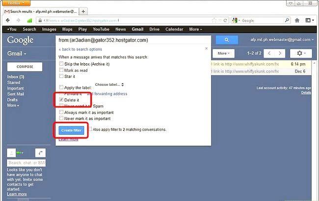 Prent getiteld Blos Senders in Gmail Stap 6