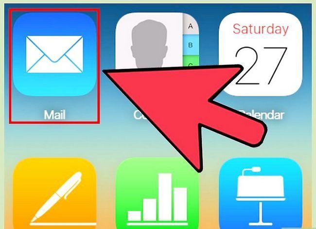 Prent getiteld Blok `n epos adres op iPhone Stap 2