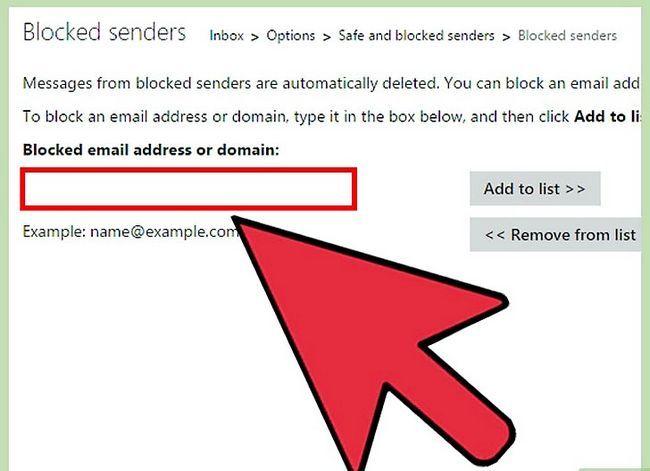 Prent getiteld Blok `n epos adres op iPhone Stap 24