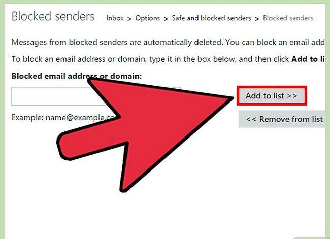Prent getiteld Blok `n epos adres op iPhone Stap 25